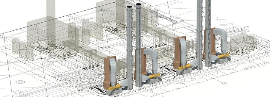 Производство промышленных дымовых и вентиляционных труб